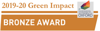 green impact bronze award